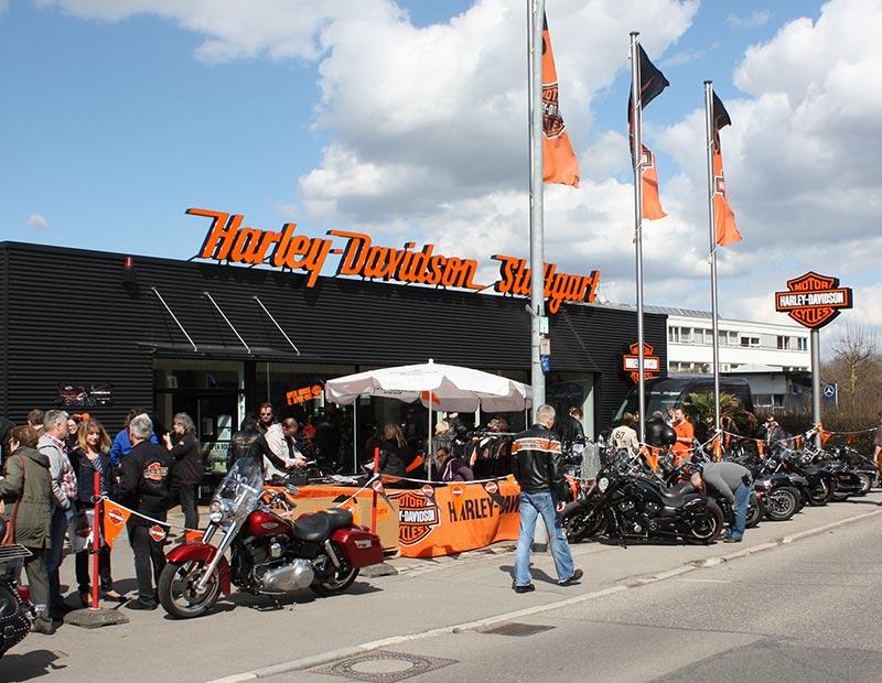 Harley-Davidson Stuttgart Frühjahrs Open-House