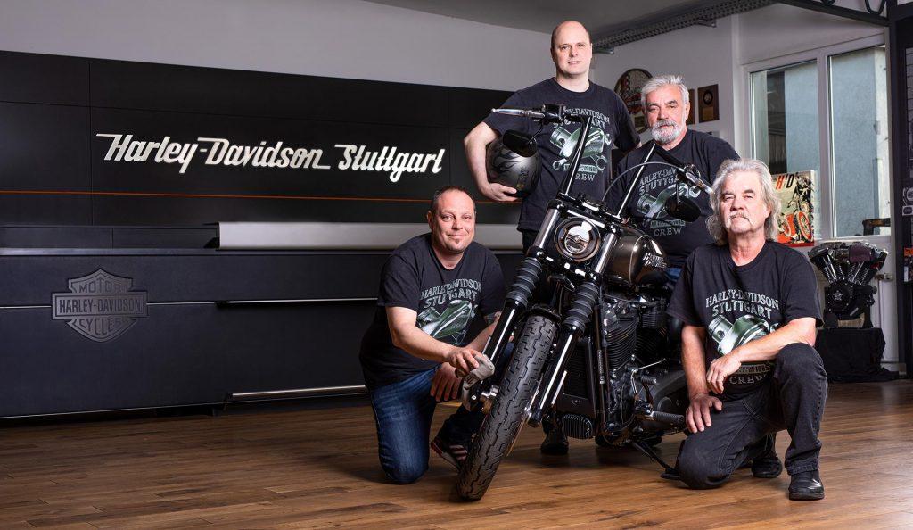 Geschäftsleitung von Harley-Davidson Stuttgart