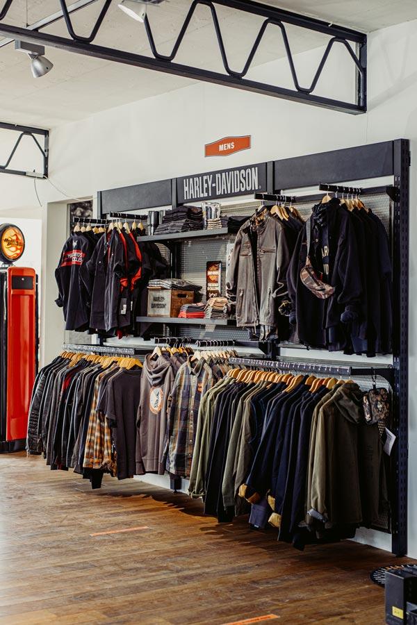 Harley-Davidson Stuttgart Store Mens Fashion Klamotten